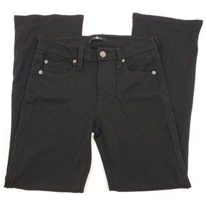 7 For All Mankand I Black Stretchy Pants
